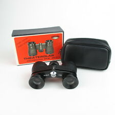 Bob óptica Scala 2,5x anteojo binoculares opera glasses BINOCULARS black in case