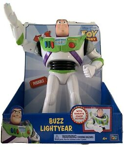 """Disney Official Licenced Toy Story 12"""" Light Buzz LightYear Karate Chopping"""