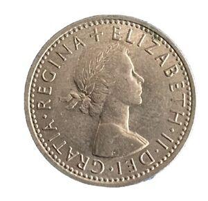 Elizabeth 11  1966 Sixpence (RC2123)