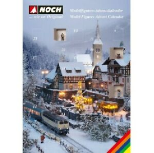 NOCH 36993 Tracks N Figures Advent Calendar New Boxed