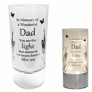 Thoughts of You Memorial Tube Light - Dad