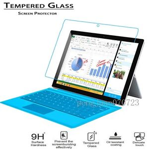 9H Tempered Glass Protector Protective Film Guard For Microsoft Surface Pro 4
