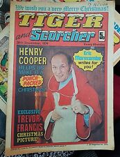TIGER  Comic - 28th Dec 1974 - Christmas  Issue