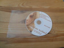 CD Pop Charlotte Karlsted - Demo Tracks (2 Song) PRIVATE PRESS disc only