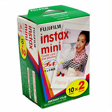 FUJI Instax Mini / Polaroid 300  INSTANT FILM - 2 Packs - Free UK Delivery