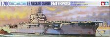 Tamiya 77514 1/700 Waterline Model Kit US Aircraft Carrier USS Enterprise CV-6