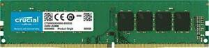 Crucial 16GB DDR4 2666 UDIMM 288-Pin Memory - CT16G4DFRA266 Desktop. New, Unused