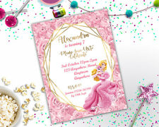 Personalised Disney Princess Sleeping Beauty Birthday Party Invitation A6 Girls