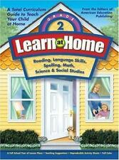 Learn at Home, Grade 2: Reading, Language Skills, Spelling, Math, Science & Soci