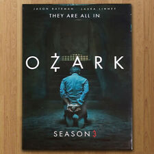 Ozark season 3 (DVD, 3-Disc Set) US seller Fast shipping First Class Mail