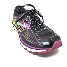 Women's Brooks Glycerin 13 Running Shoes Sneakers Size 8 AA Black Purple T3