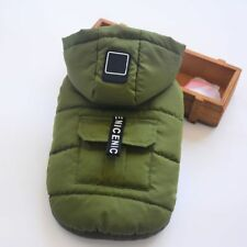 Winter Small Large Dogs Clothes Autumn Warm Pets Wear Jacket Costume Hoddie Coat