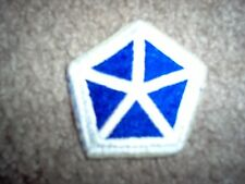 WWII US Army V 5th Corps Patch Cut edge