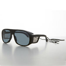 Polarized Fishing Vintage Glasses with Glass Lens Matte Black - Moby