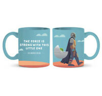 Star Wars The Mandalorian Force is Strong 20 oz Jumbo Mug Baby Yoda The Child