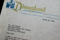 Disneyland 1964 Mickey Mouse Club Mouseketeers Document AMF Bowling Walt Disney