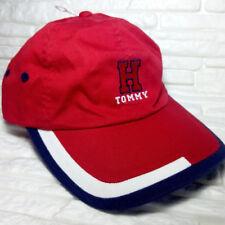 Tommy Hilfiger rot blau Baseballmütze ORIGINAL 100% Baumwolle VP €40 Größe  s m 6419d7f4a306
