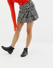 BOOHOO LOVELY WOMENS BLACK WIDE FOOT FLAT HEEL CLASSIC CHELSEA BOOTS NEW UK 4