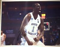 THEO PINSON UNC SIGNED 8X10 BROOKLYN NETS NATIONAL CHAMPION 2017 PHOTO