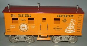 MCCOY STANDARD GAUGE1975 TCA 21st NATIONAL CONVENTION KITCHEN CAR