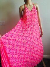 Victoria's Secret Pink Dress Size M Swim Suit Cover Up Beach  Long Tropical