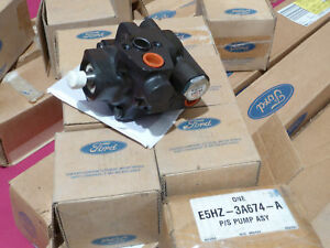 Ford E5HZ-3A674-A OEM Genuine Power Steering Pump