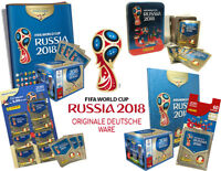 Panini WM World Cup Russia 2018 - Sticker - Display, Album, Blister