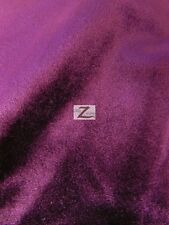 """SOLID BENOTI VELVET UPHOLSTERY FABRIC - 12 Colors - 57"""" WIDTH SOLD BY THE YARD"""