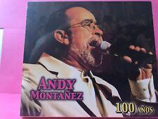 RARE cd SALSA Import Spain ANDY MONTANEZ 100 2cds Live Gracias a la Vida