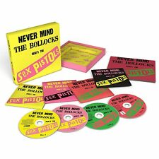 SEX PISTOLS - NEVER MIND THE BOLLOCKS (LIMITED DELUXE EDITION)  3 CD+DVD NEW!