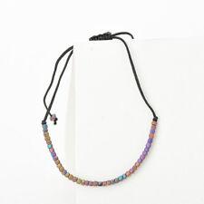 New Handmade Natural Stone Lucky Knots Rope Bracelet Good Luck Charm Bracelet