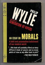 AN ESSAY ON MORALS ~ CARDINAL GC-93 1961 PHILIP WHLIE ~ READER