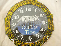 """ANTHRAX 10"""" GOT THE TIME gimmick sleeve island 101s476 / 878 699 0"""