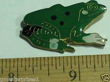 Frog Pin , Vintage Frog Lapel Pin, (Ex-lg)*(*)