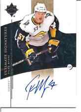 TYLER MYERS 2009-10 UD ULTIMATE CERTIFIED AUTOGRAPH