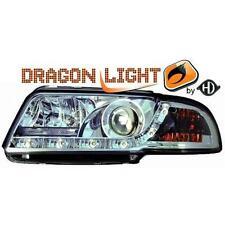 Paar leuchttürme scheinwerfer vorne TUNING AUDI A4 94-99 chrome mit Dayline LED-