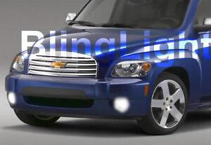 White LED Halo Fog Lights Lamps foglamps For 2006-2010 Chevrolet HHR Chevy