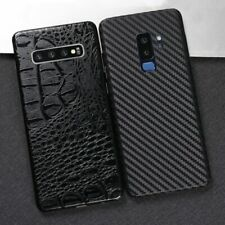 Skin Sticker GALAXY S20 Ultra S10e Plus Note10 Leather Carbon Back Cover Film