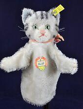 Steiff: mano GIOCO GATTO ANIMALE/mano Puppet Cat, 0317,00, KFS/All IDS, 1959-1964