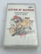 "GUNS N ROSES ""silver bullet"" Live n' demo MC K/ NEW SEALED RARE LEOPARD"