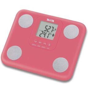 Tanita BC-730 die kleinste und leichteste Körperanalyse-Waage der Welt, Pink
