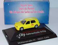 1:87 VW Volkswagen Golf III VR6 4türig gelb City-Fahrschule-Krug Celle - herpa