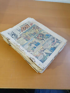 LION COMIC No. 1-45 from 1952 - FULL YEAR!!