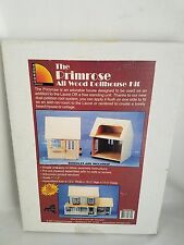 Vtg 2001 Corona Concepts The Primrose Wood Dollhouse Kit #9310 Add on Laurel