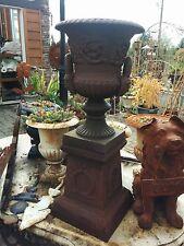 Cast Iron Metal Urn Handle Planter Garden Wedding Yard Lawn Outdoor Home Decor