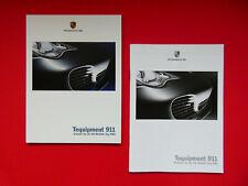 Prospekt / Katalog / Brochure Porsche 911 (996) Tequipment mit Preisliste  08/03
