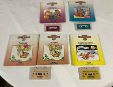 Teddy Ruxpin 1985 Book & Cassette Tape - Lot of 5 Books and 4 Tapes vintage