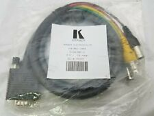SVGA to 5 BNC (F) RGB VGA Monitor Cable Lead 1 ft Video Cable KRAMER