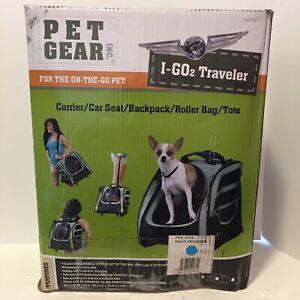 I-GO2 Traveler Pet Carrier - Ocean Blue