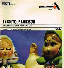 "Rossini-Respighi LA BOUTIQUE FANTASQUE 12"" LP Solti ISRAELI PHILHARMONIC SDD 109"